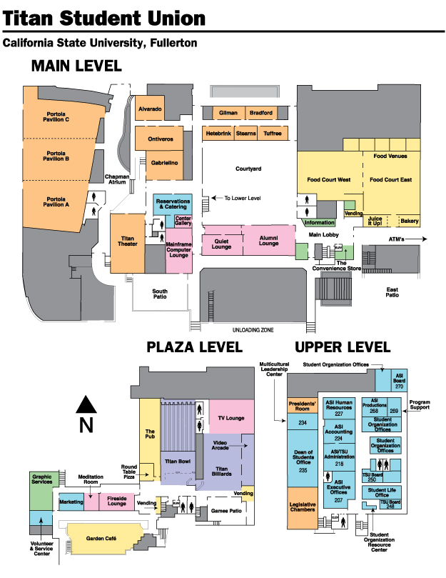 college of munications directions