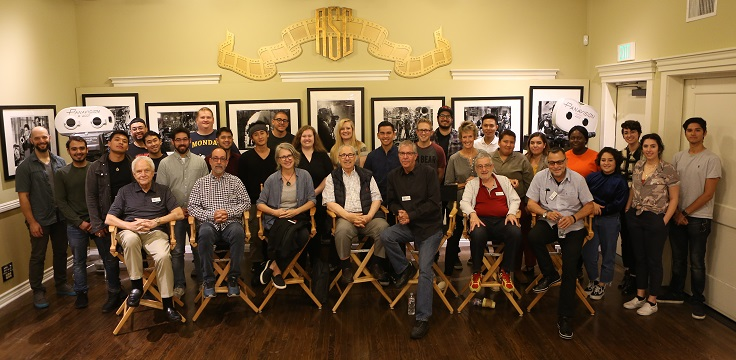 Cinematography Students Visit American Society of Cinematographers Clubhouse